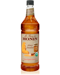 Monin Organic Honey Sweetener Syrup (1L)