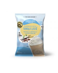 Big Train Vanilla Latte Reduced Sugar Blended Ice Coffee Mix (3.5 lbs)