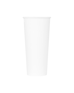 Karat 24oz Paper Hot Cups - White (90mm) - 500 ct, C-K524W