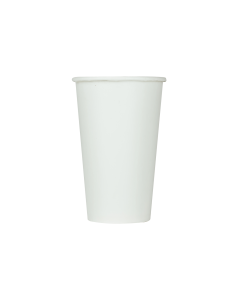 Karat 16oz Paper Cold Cup - White (90mm) - 1,000 ct