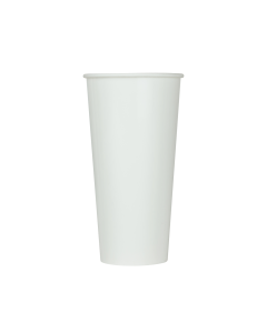 Karat 22oz Paper Cold Cup - White (90mm) - 1,000 ct