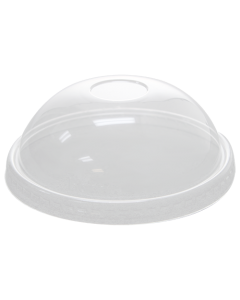 Karat 20oz PET Food Container Dome Lids (130mm) - 600 ct