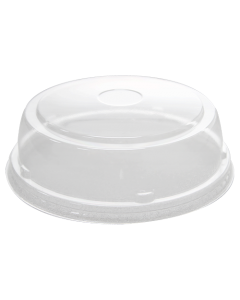 Karat 24-32oz PET Food Container Straight Dome Lids (142mm) - 600 ct