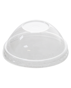 Karat 4oz PET Food Container Dome Lids (76mm) - 1,000 ct, C-KDL76-PET
