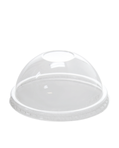 Karat 6/10oz PET Food Container (96mm) and Gourmet Food Container Dome Lids - 1000 ct