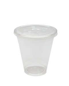 Karat 12oz PET Cold Cups and PET Flat Lids (98mm)