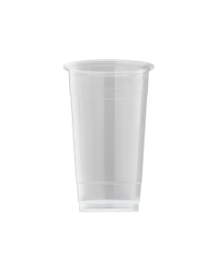 Karat 24oz PP U-Rim Cold Cups (95mm) - 1,000 ct