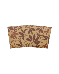Karat Traditional Cup Jackets - Fleur Brown - 1,000 ct, C5300 (Fleur, Brown)