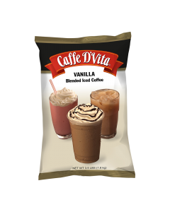 Caffe D'Vita Vanilla Latte Blended Ice Coffee (3.5 lbs), P7007