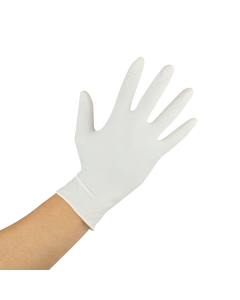 Karat Latex Powdered Gloves (Clear) - Medium - 1,000 ct, FP-GL1012