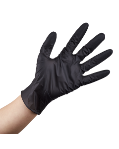 Karat Nitrile Powder-Free Gloves (Black) - Medium - 1,000 ct