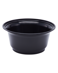 Karat 36oz PP Injection Molding Bowl - Black - 300 ct, FP-IMB36B