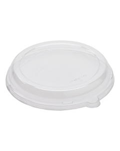 Karat PET Dome Lid for 24 oz. Bagasse Bowls - 200 ct