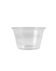 Karat 4oz PP Portion Cups - Clear - 2,500 ct