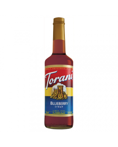 Torani Blueberry Syrup (750 mL), G-Blueberry