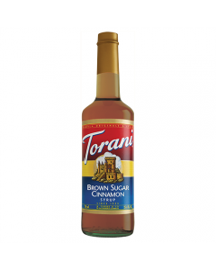 Torani Brown Sugar Cinnamon Syrup (750 mL), G-Brown Sugar Cinnamon