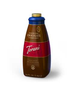 Torani Sugar Free Chocolate Sauce (64oz), G-Chocolate-S-sf