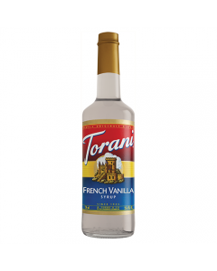 Torani French Vanilla Syrup (750 mL), G-French Vanilla