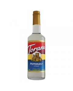 Torani Peppermint Syrup (750 mL)
