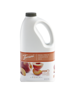 Torani Peach Real Fruit Smoothie Mix (64oz), G-RealFruit Smoothie (PEACH)