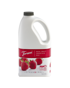 Torani Strawberry Real Fruit Smoothie Mix (64oz), G-RealFruit Smoothie (STRAWBERRY)
