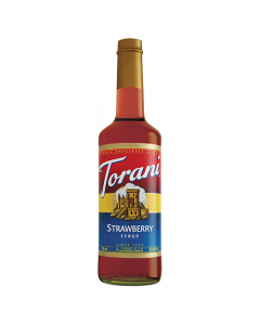 Torani Strawberry Syrup (750 mL), G-Strawberry