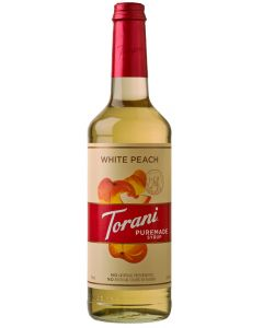Torani Puremade White Peach Syrup - 750mL