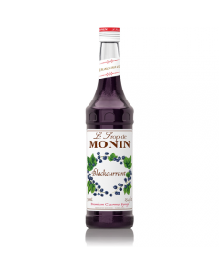 Monin Blackcurrant Syrup (750mL), H-Blackcurrant