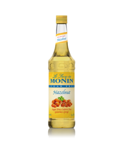 Monin Sugar Free Hazelnut Syrup (750mL), H-Hazelnut-sf