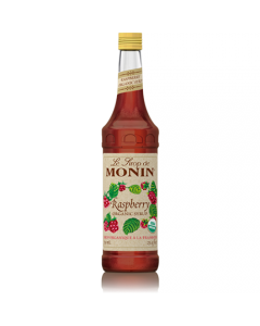 Monin Raspberry Organic Syrup (750mL), H-Organic, Raspberry