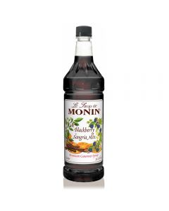 Monin Blackberry Sangria Mix Syrup (1L), H-Sangria Mix, Blackberry, 1.0L