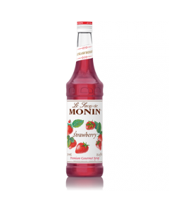 Monin Strawberry Syrup (750mL), H-Strawberry