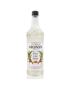 Monin Pure Cane Sweetener Syrup (1L), H-Sweetener, Pure Cane 1.0L