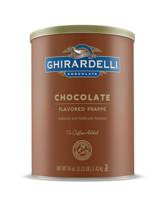 Ghirardelli Chocolate Frappe (3.12 lbs), I-Frappe, Double Chocolate-P (3.12lb)