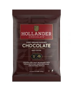 Hollander Sweet Ground Dutched Cocoa & Chocolate Powder (2.5 lbs)
