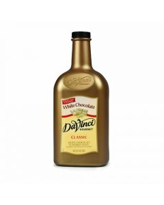 DaVinci White Chocolate Sauce (64oz), K-Chocolate-WMS