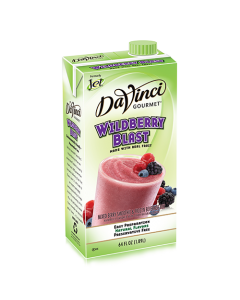 DaVinci Wildberry Blast Fruit Smoothie Mix (64oz) - Formerly Jet, K-Jet (Wildberry Blast)