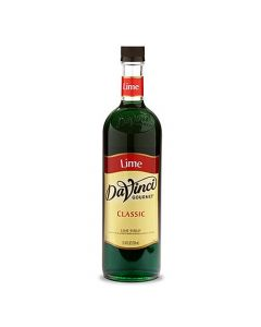 DaVinci Classic Lime Syrup (750mL), K-Lime