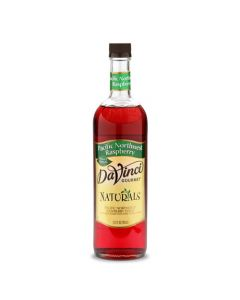 DaVinci Natural Single Origin Pacific Northwest Raspberry Syrup (700mL), K-Natural, Raspberry