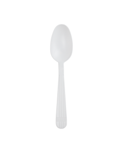 Karat PP Premium Extra Heavy Weight Tea Spoons - White - 1,000 ct