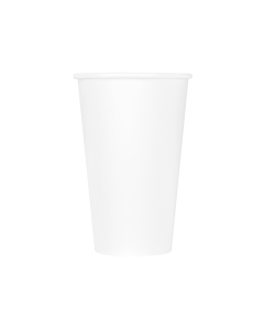 Karat Earth 16oz Eco-Friendly Paper Hot Cups - White (90mm) - 1,000 ct