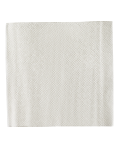 "Karat 9""x9"" Beverage Napkins - White - 4,000 ct, KN-B99-1W"