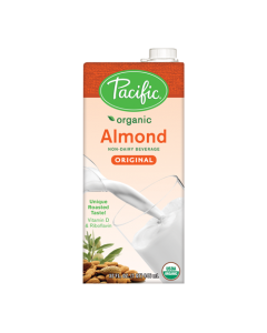 Pacific Organic Almond Original Non-Dairy Beverage (32oz), P-Organic Almond, Original