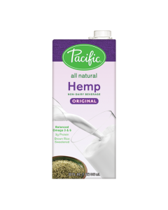 Pacific Hemp Original Non-Dairy Beverage (32oz), P-Hemp, Original