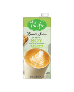Pacific Barista Series Original Soy Beverage (32oz), P-Soy, Original