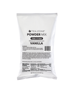 Tea Zone Vanilla Powder (2 lbs)