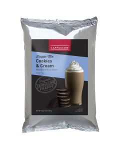 Cappuccine Cookies & Cream Frappe Mix (3 lbs), P4010