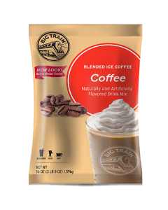 Big Train Coffee Blended Ice Coffee Mix (3.5 lbs), P6013