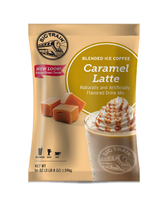 Big Train Caramel Latte Blended Ice Coffee Mix (3.5 lbs), P6014