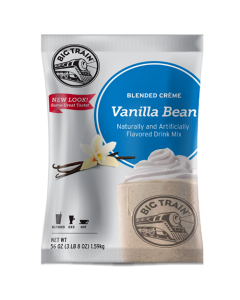 Big Train Vanilla Bean Blended Creme Frappe Mix (3.5 lbs), P6019